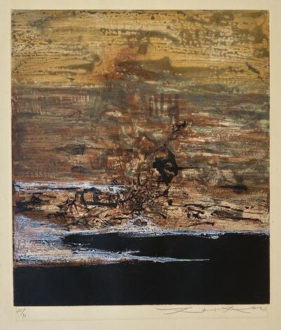 Zao Wou-Ki 趙無極, 'Untitled', 1963