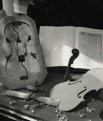 André Kertész, 'Violin Shop', 1984