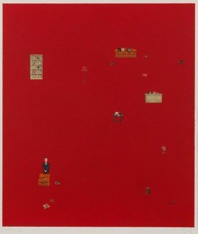 Zeng Hao, 'Untitled red', 2002