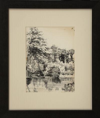 Edward Hopper, 'The Creek at Hogencamps', 1900