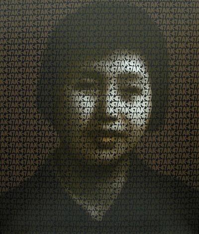 Zhang Dali, 'AK-47, No. A11', 2007