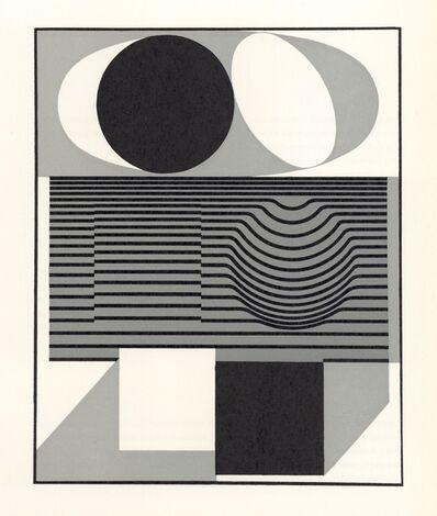 Victor Vasarely, 'Ondho (form the Geh durch den Spiegel portfolio)', 1961