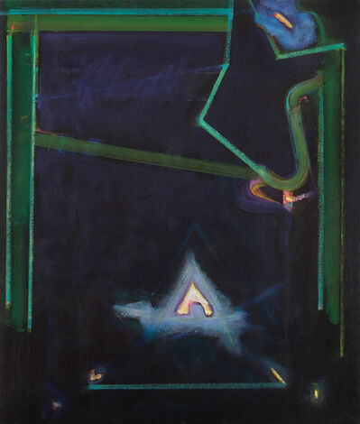 William Scharf, 'Green Bridge', 1986