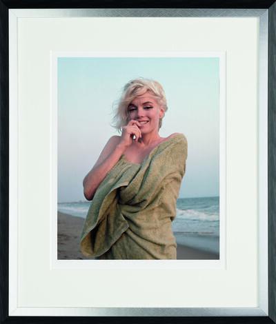 George Barris, 'Beach Towel, Santa Monica Beach, 1962', 2014