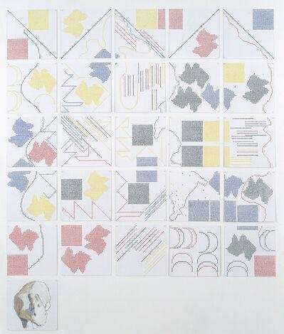 Jennifer Bartlett, 'Alphabet Five', 1993