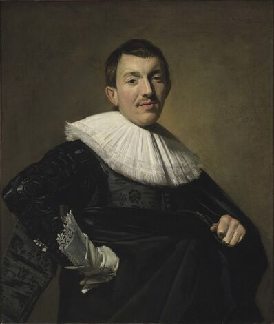 Frans Hals, 'Portrait of a man', 1582-1583