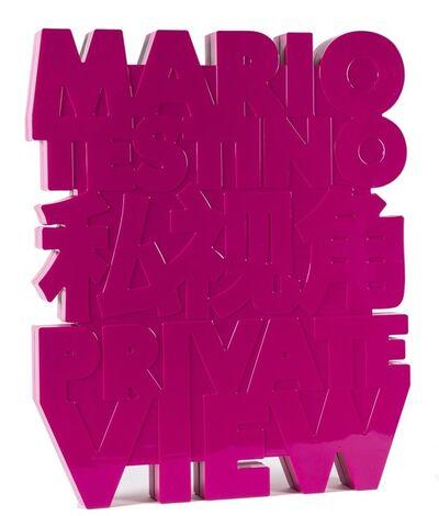 Mario Testino, 'Private View', 2012