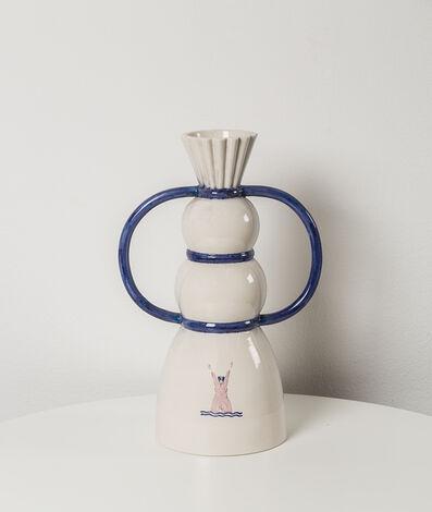 Ugo La Pietra, 'Polychrome porcelain', 1997