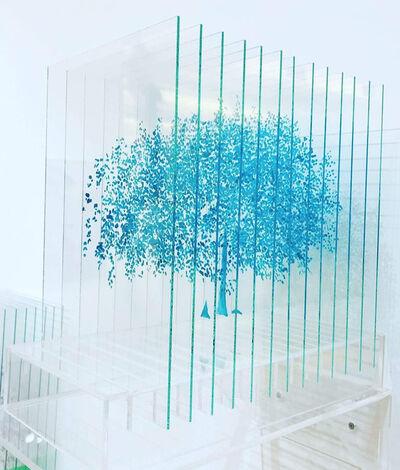 Ardan Özmenoğlu, 'Turquoise Tree', 2019