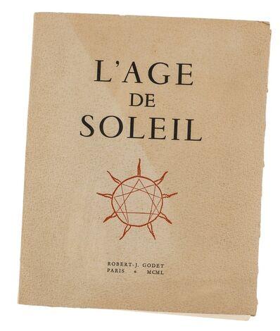 Pablo Picasso, 'Robert-J. Godet, L' Age De Soleil (Cramer 57)', 1950