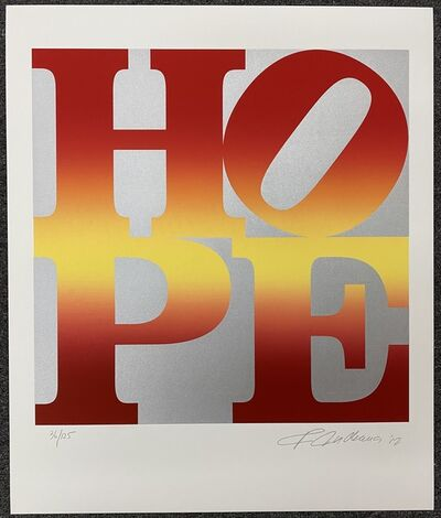 Robert Indiana, 'Four Season of Hope (Autumn)', 2012