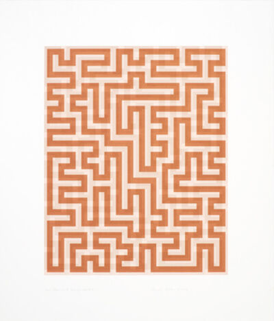 Anni Albers, 'Red Meander II'