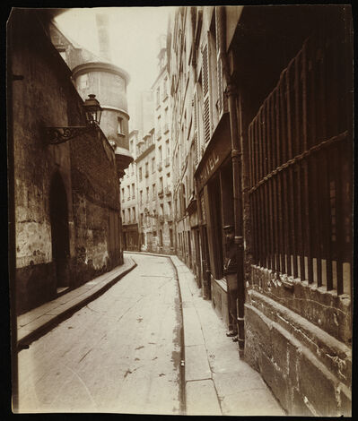 """Eugène Atget, 'Rue de l'H""""tel-de-Ville', 1921"""