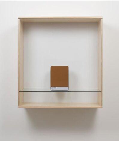Haim Steinbach, 'Untitled (Pantone 4635)', 2016