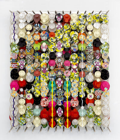 Jacob Hashimoto, 'The Heat Death of the Universe', 2021