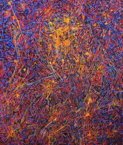 Lee Mullican, 'Shooting Chant', 1985