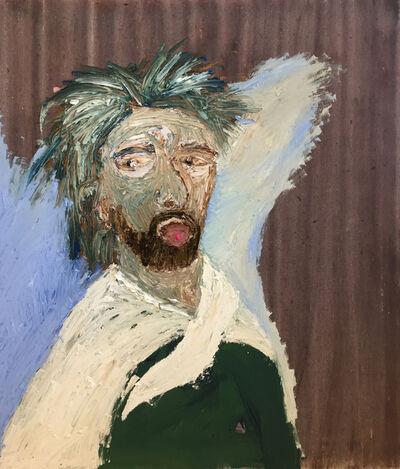 Fadi El Chaama, 'Portrait with a Pill', 2018