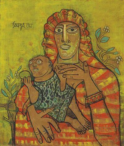 Francis Newton Souza, 'Mother & Child', 1961