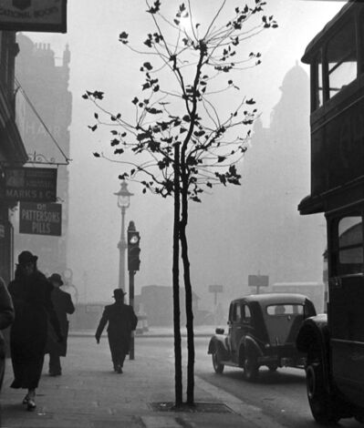 Wolfgang Suschitzky, 'Charing Cross Road from No. 84, (Marks & Co.)', 1936