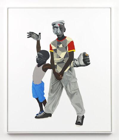 Deborah Roberts, 'Armor', 2018