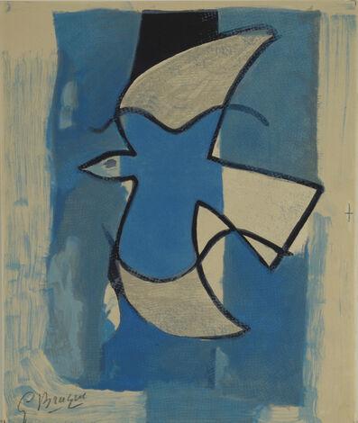 Georges Braque, 'Oiseau Bleu et Gris', 1962