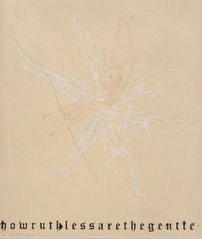 Lesley Dill, 'Skeleton Doily', 2010