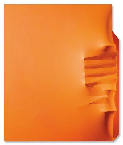Agostino Bonalumi, 'Arancione', 1971