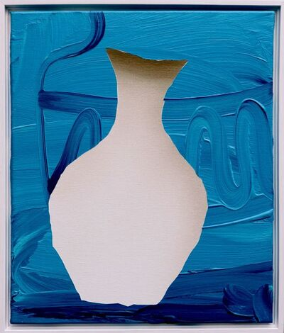 Lieven Hendriks, 'Blue Vase (Vases series)', 2015