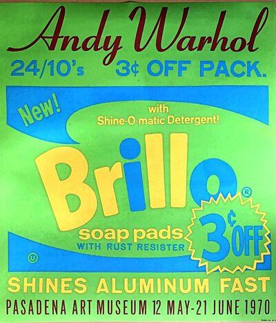 Andy Warhol, 'Brillo ', 1970
