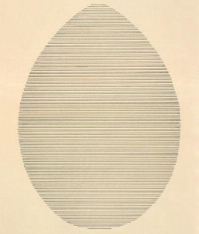 Agnes Martin, 'The Egg', 1963