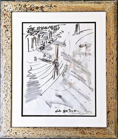 Mark di Suvero, 'Project for Sculpture in Chalon-sur-Saône', 1992