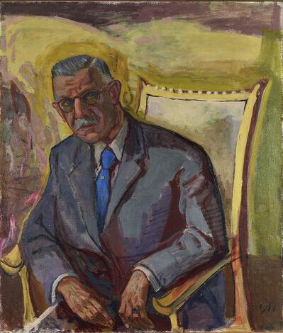 Otto Dix, 'BILDNIS PROF. DR. WILHELM HERGT', 1951