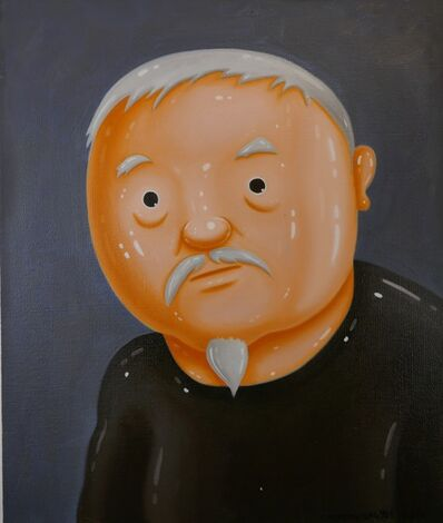 Shen Jingdong, 'Li Xianting - the men who do not listen', 2015