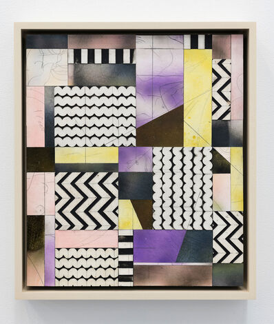 Ruby Sky Stiler, 'Lemon, Lavender, Zig-zags and Wiggles ', 2019