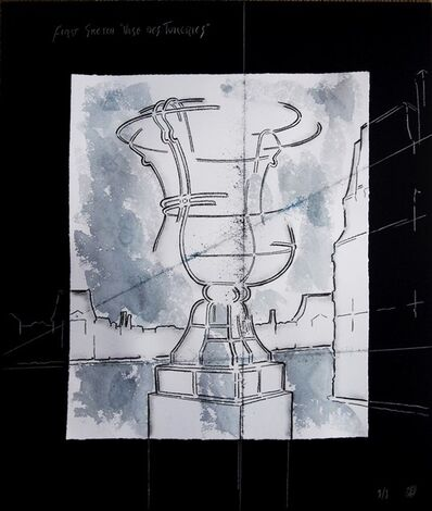 Juan Garaizabal, 'First Sketch Vases des Tuileries IV',  2014