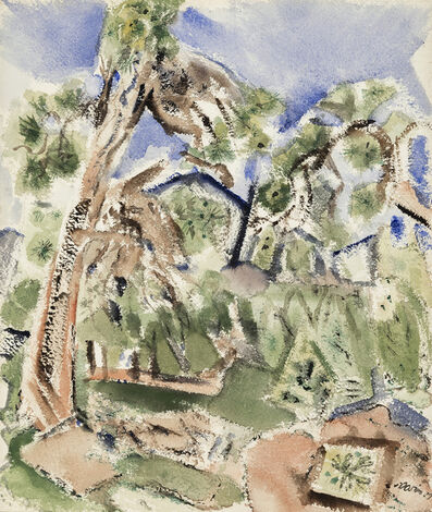 John Marin, 'Untitled, New Mexico Landscape', 1929