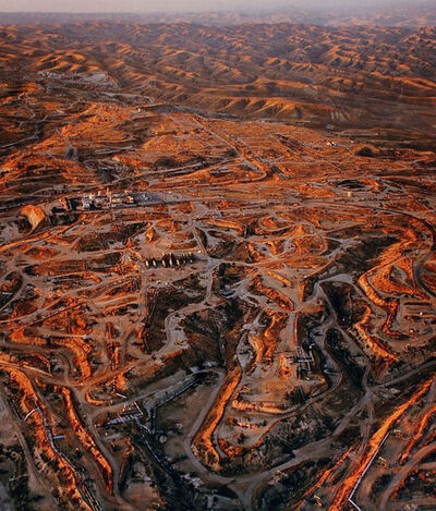 Edward Burtynsky, 'Oil Fields #27, Texas City, Texas', 2004