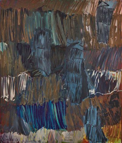 """Per Kirkeby, '""""Herbst-Anastasia IX (Autumn-Anastasia IX)""""', 1997"""