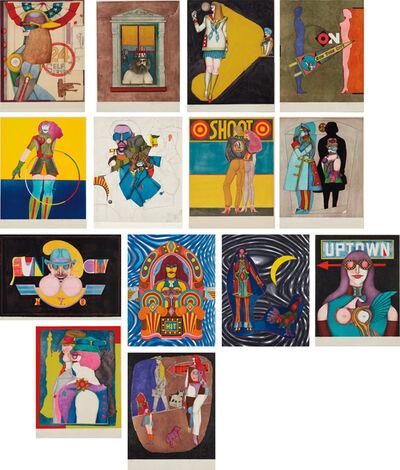 Richard Lindner, 'Fun City', 1971