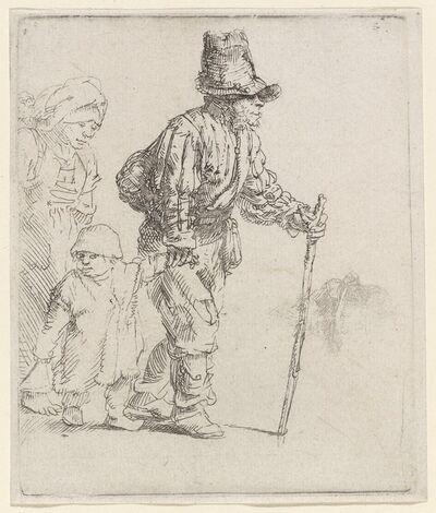 Rembrandt van Rijn, 'Peasant Family on the Tramp', ca. 1652