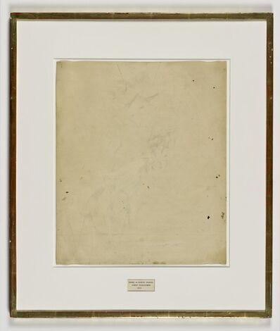 Robert Rauschenberg, 'Erased de Kooning Drawing', 1953