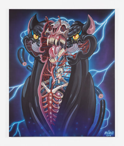 NYCHOS, 'STEEL PANTHER', 2010