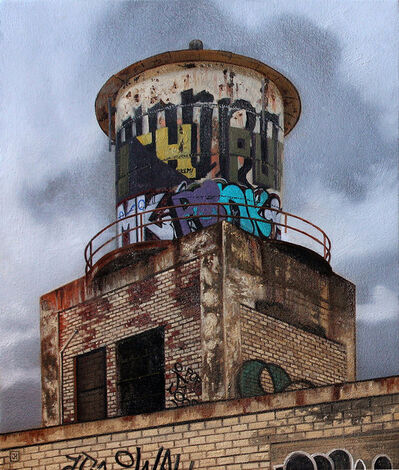 "Jessica Hess, '""Up On The Roof II""', 2015"
