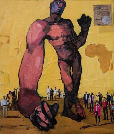 Dawit Abebe, 'Long Hands 2', 2019