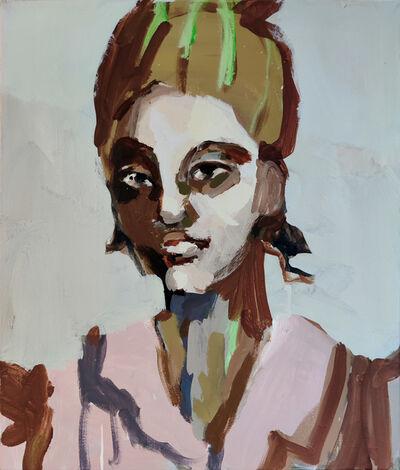 Mie Olise Kjærgaard, 'Green-haired Woman', 2021