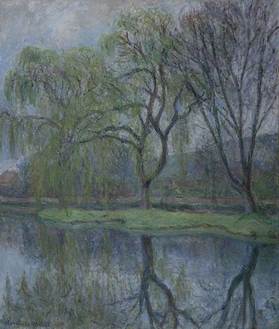 Blanche Hoschedé-Monet, 'Les grands arbres à l'étang', Unknown