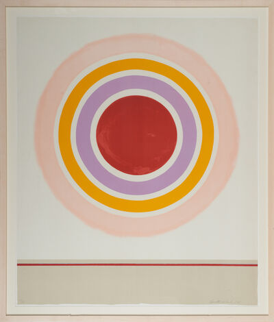Kenneth Noland, 'Blush', 1978