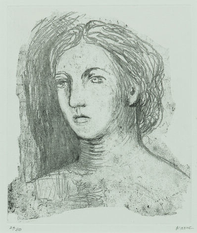 Henry Moore, 'Head of a Woman', 1981