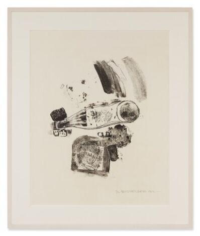 Robert Rauschenberg, 'Merger (Foster 5)', 1962