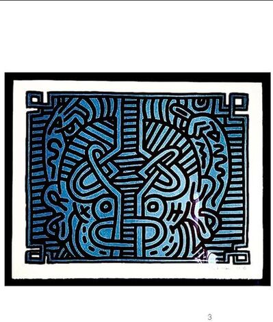 Keith Haring, 'Chocolate Buddha', 1989